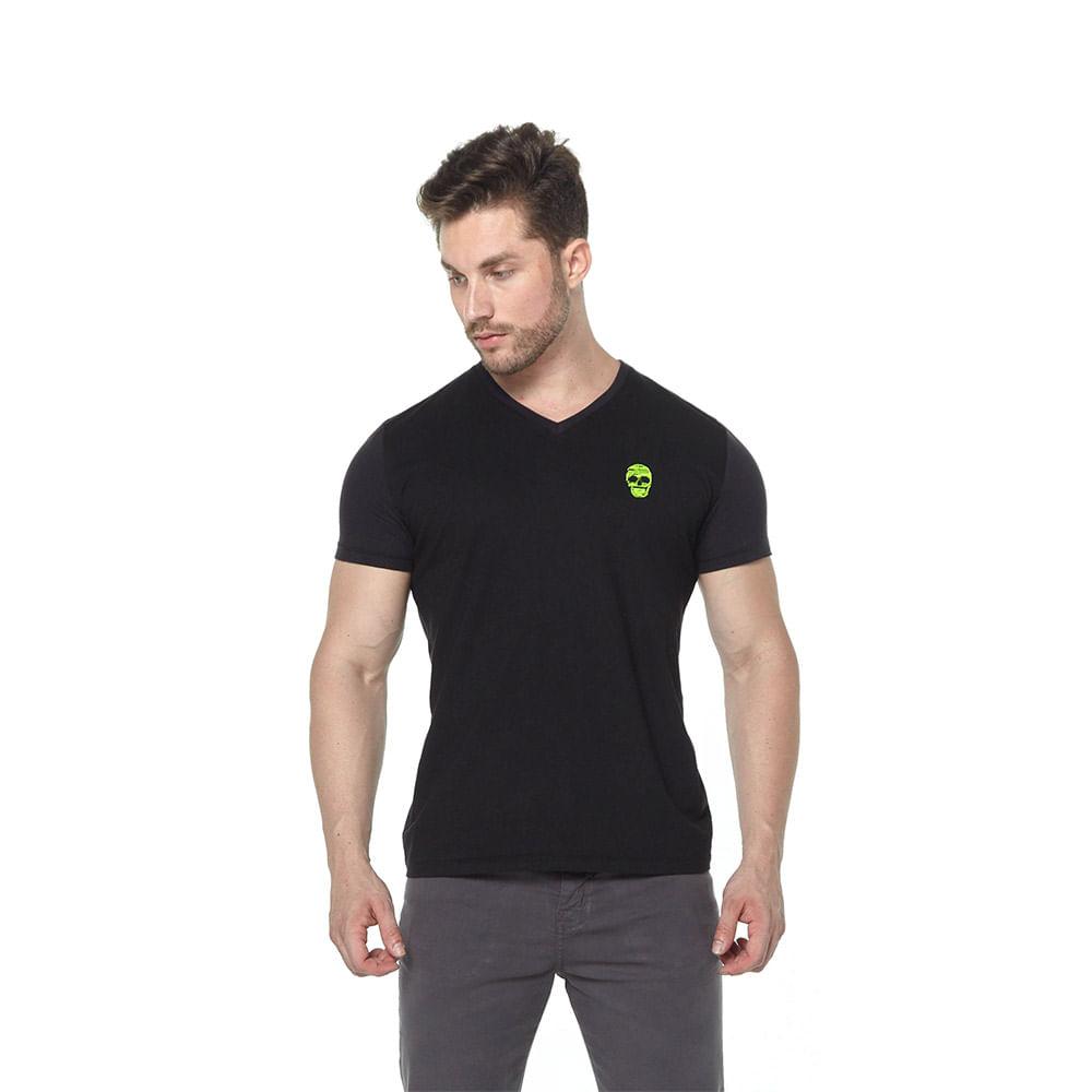 Camiseta Osmoze 01 Gola V 110112769 Preto