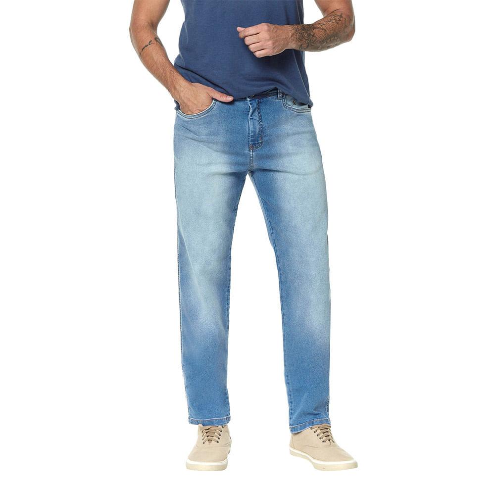 Calça Jeans Denuncia Slim Fit Z 101324170 Azul