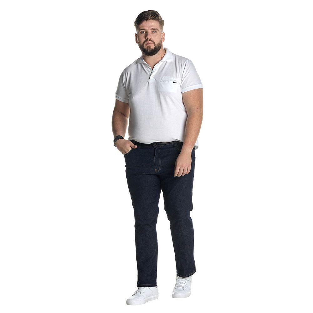 Calça Jeans Denuncia Slim Z 101324235 Azul - Azul - 46