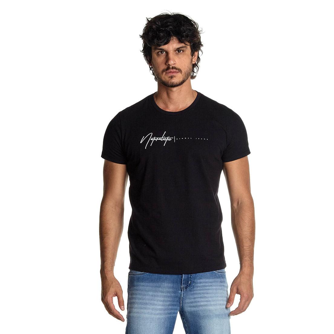 Camiseta Osmoze 09 110112818 Preto