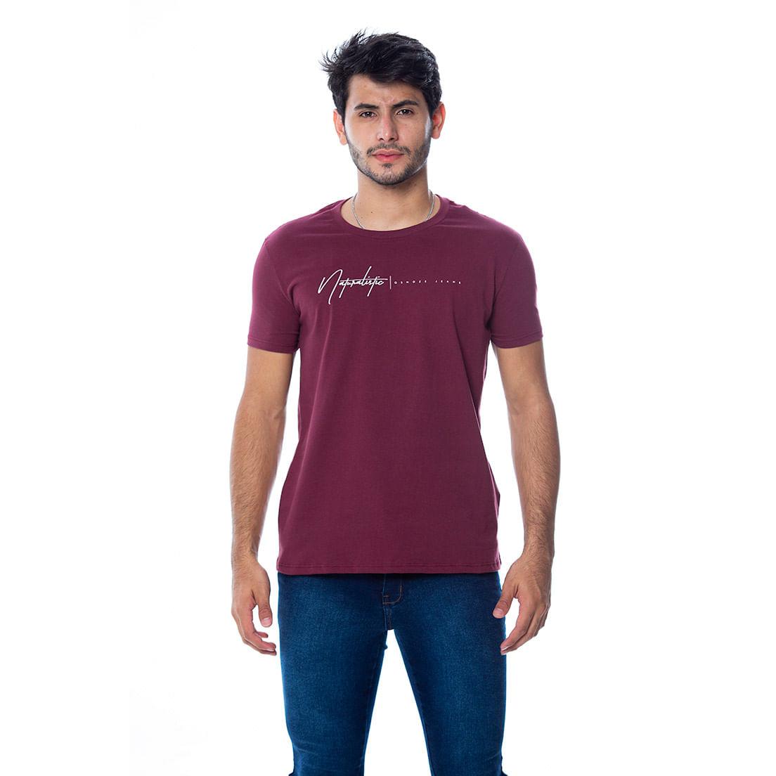 Camiseta Osmoze 09 110112818 Bordo