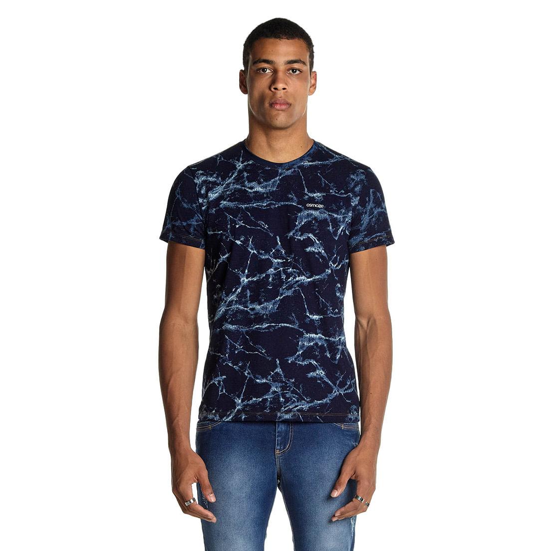 Camiseta Osmoze Tie Dye Espaço Sideral 110112870 Azul