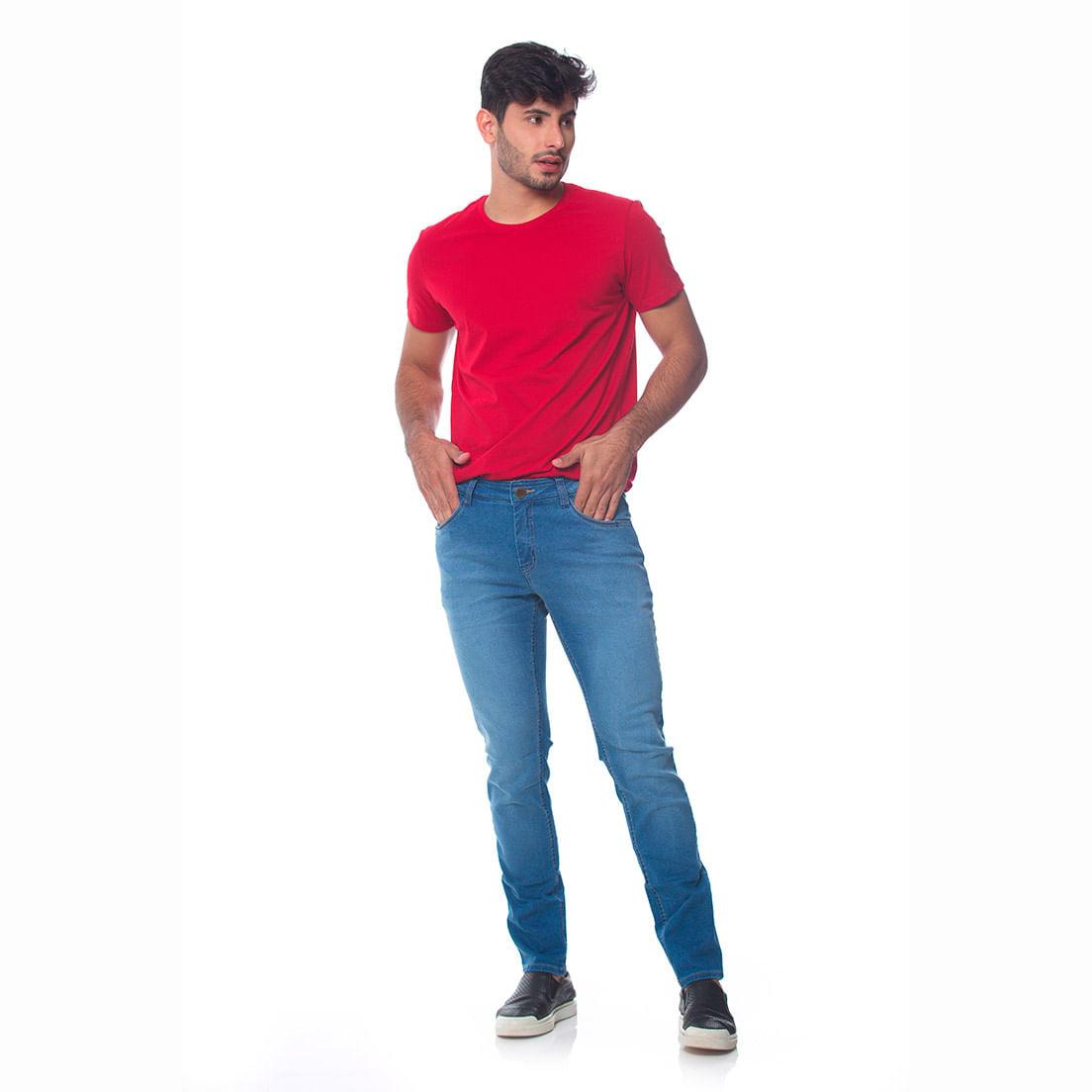 Calça Jeans Osmoze Skinny 101124305 Azul