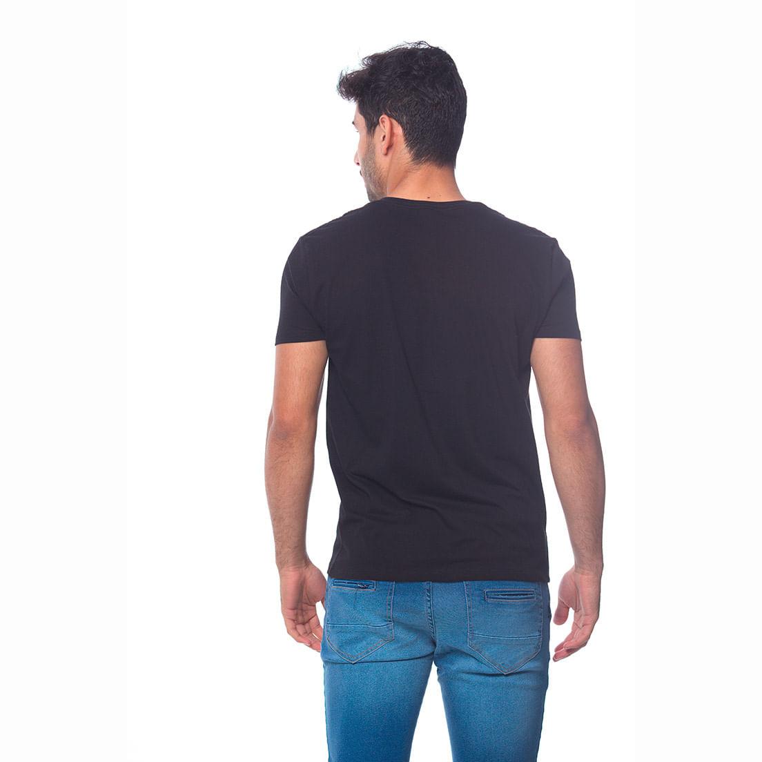 Camiseta Osmoze Gola V 2 110112811 Preto