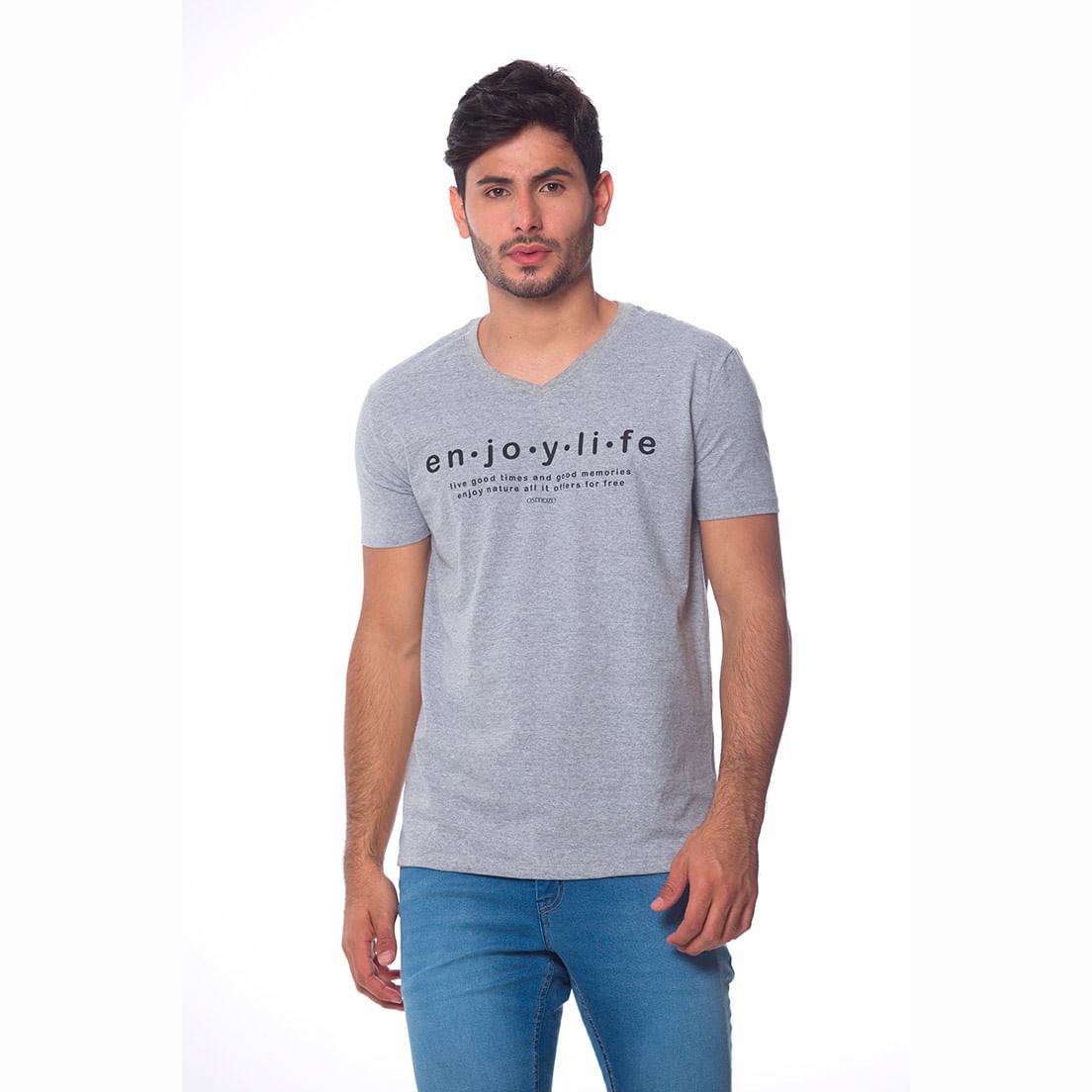 Camiseta Osmoze Gola V 2 110112811 Cinza