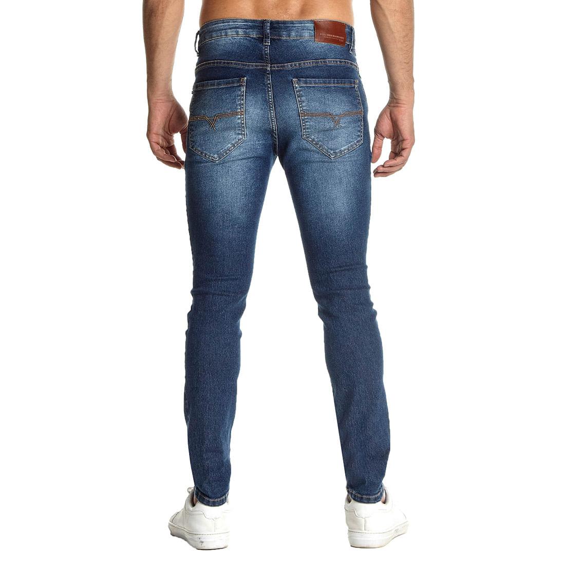 Calça Jeans Osmoze Skinny Z 101124285 Azul