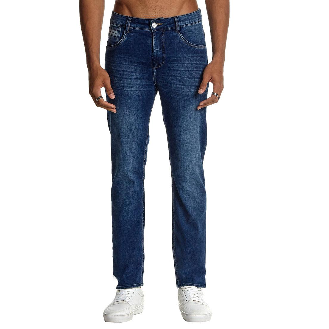 Calça Jeans Osmoze Slim 101124315 Azul