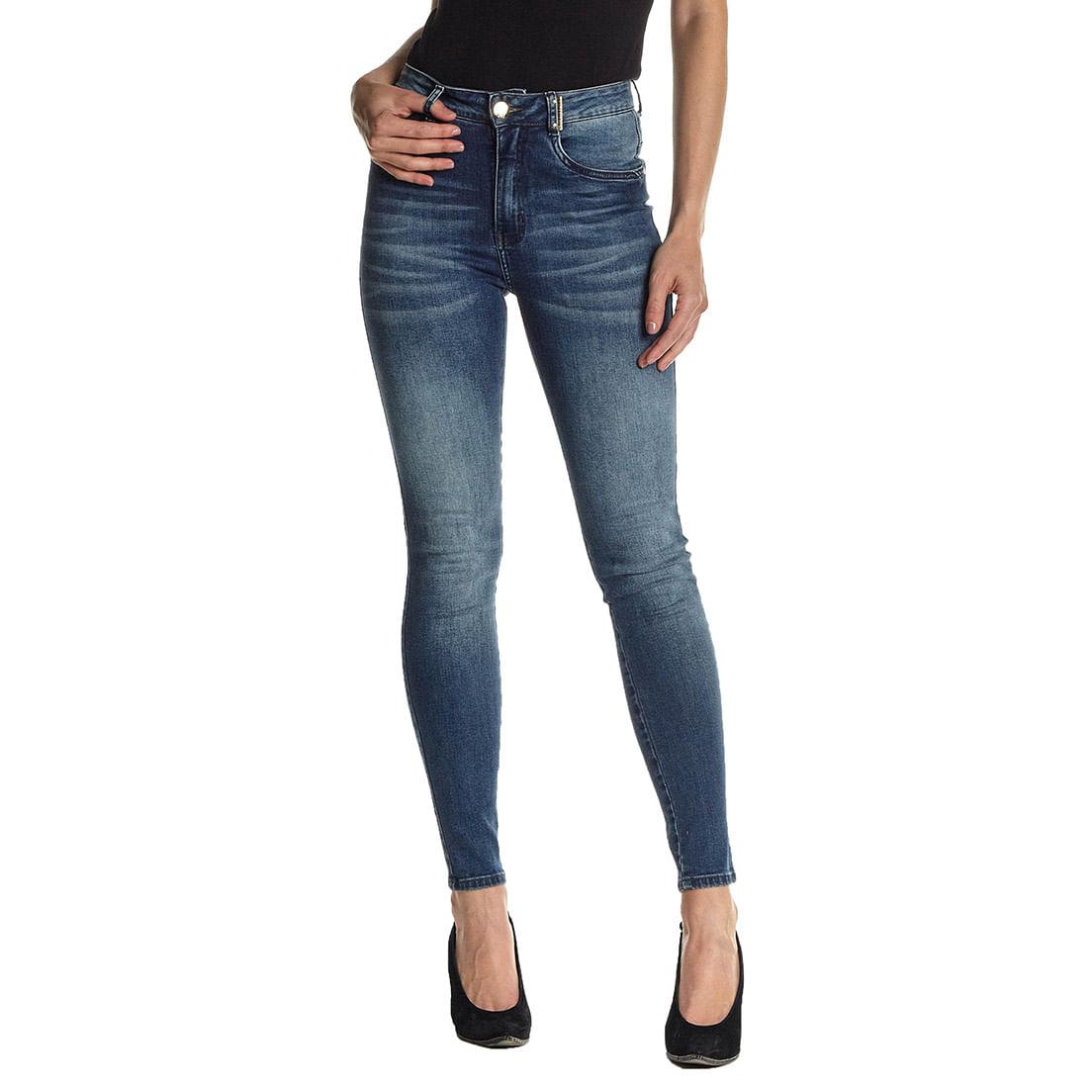 Calça Jeans Osmoze Hot Skinny 201124236 Azul