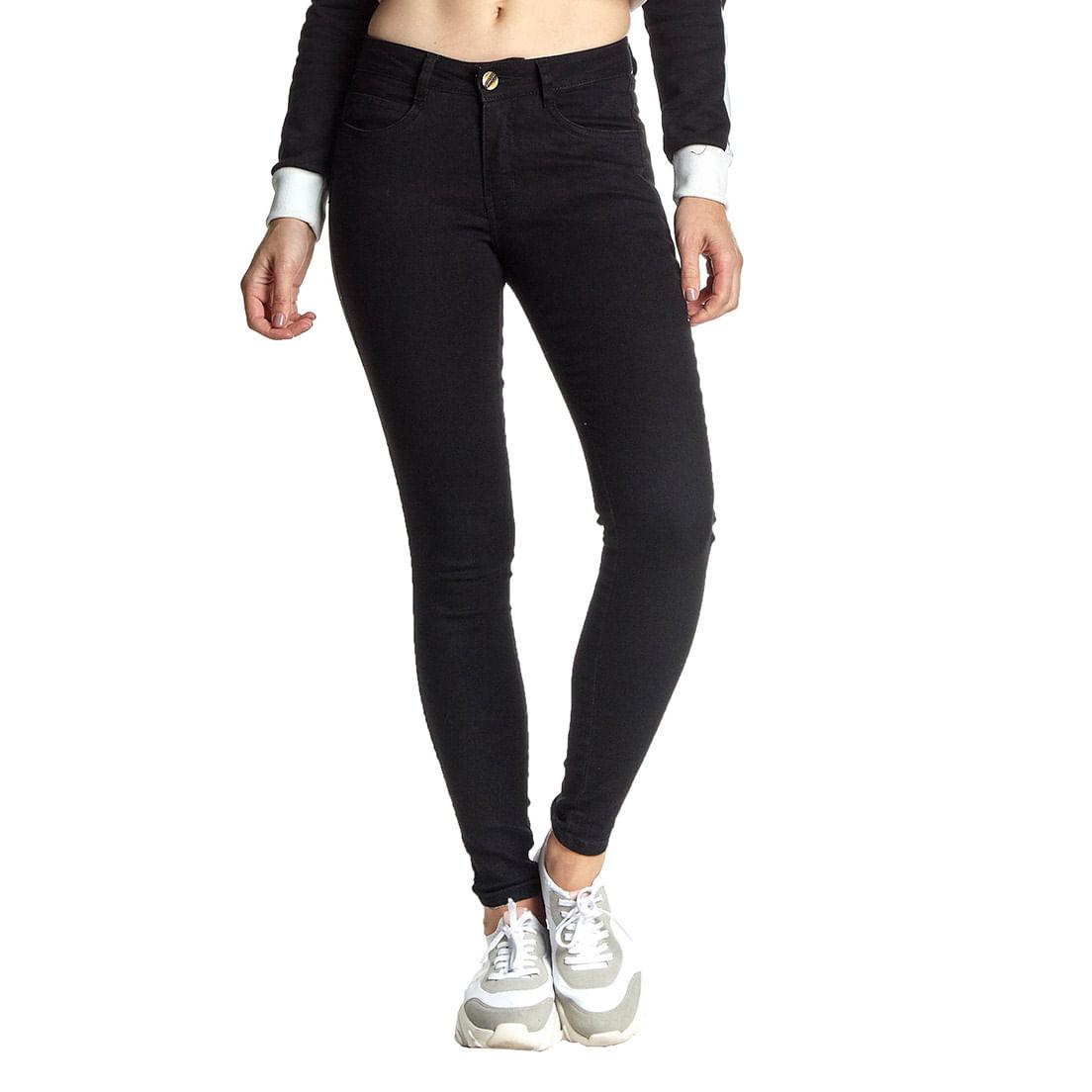 Calça Jeans Osmoze Skinny Z 201124215 Preta