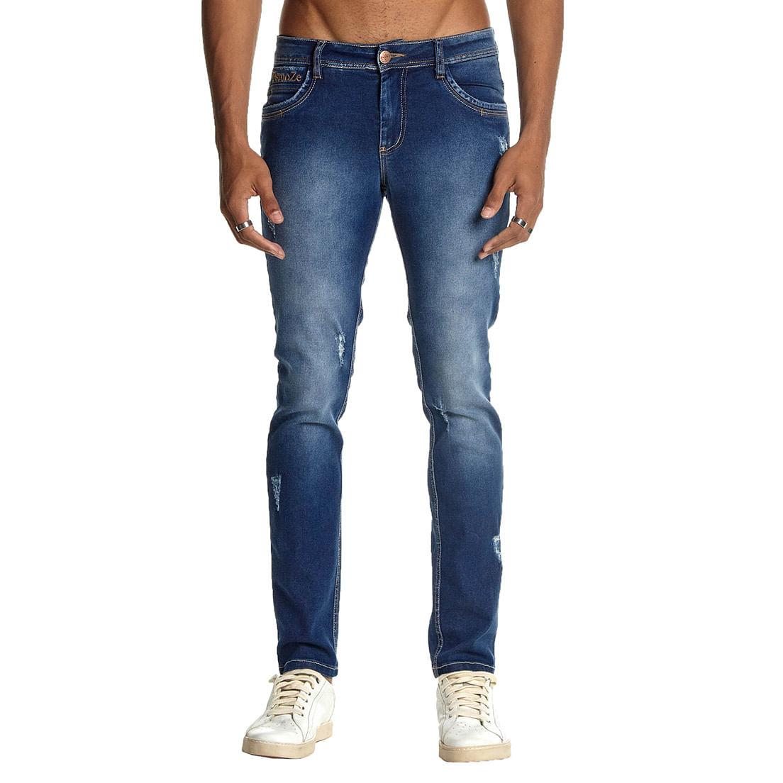 Calça Jeans Osmoze Skinny 101124307 Azul