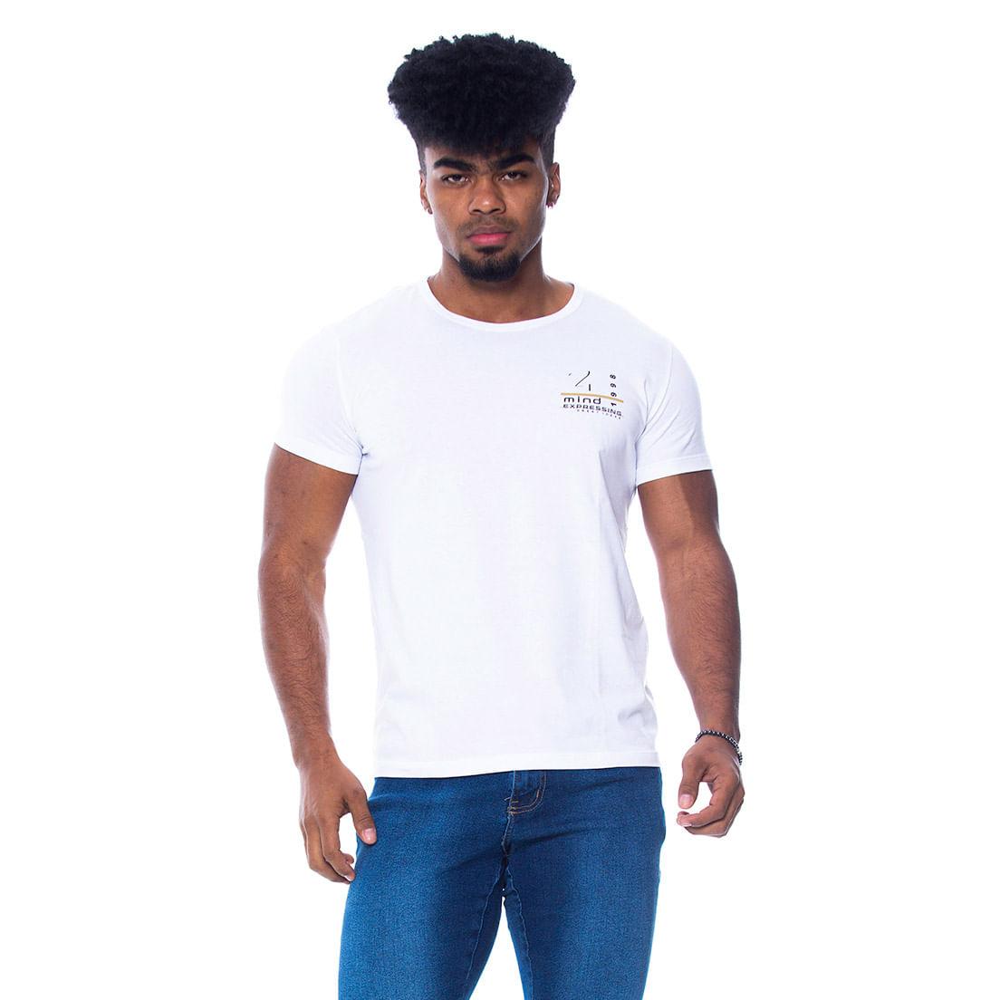 Camiseta Osmoze Mind 08 110112738 Branca