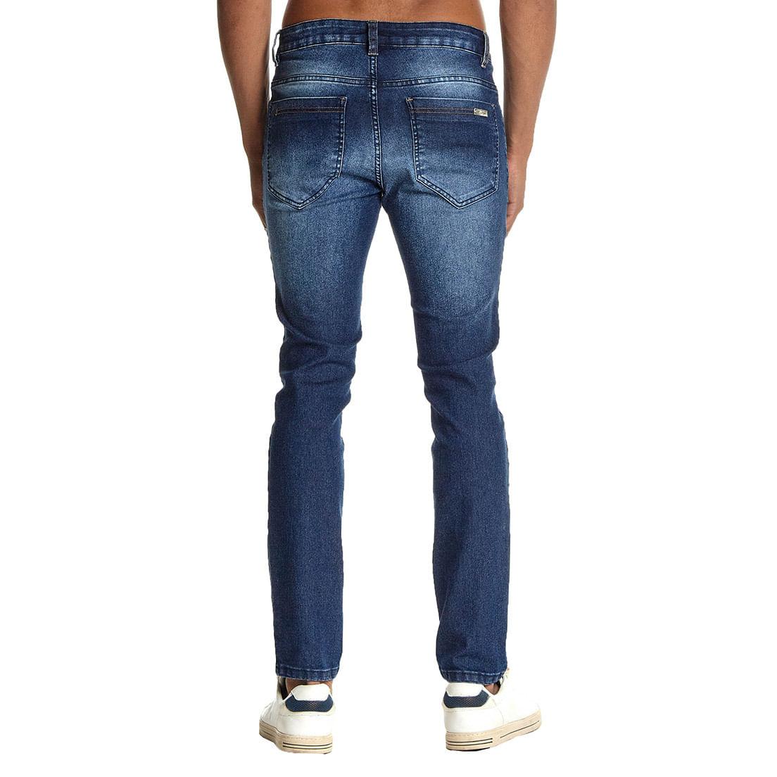 Calça Jeans Osmoze Skinny Z 101124284 Azul